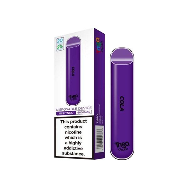 20mg TNGO Ice Blast Disposable Vape Pod 600 Puffs 3 for £14 - Disposable Vapes 2