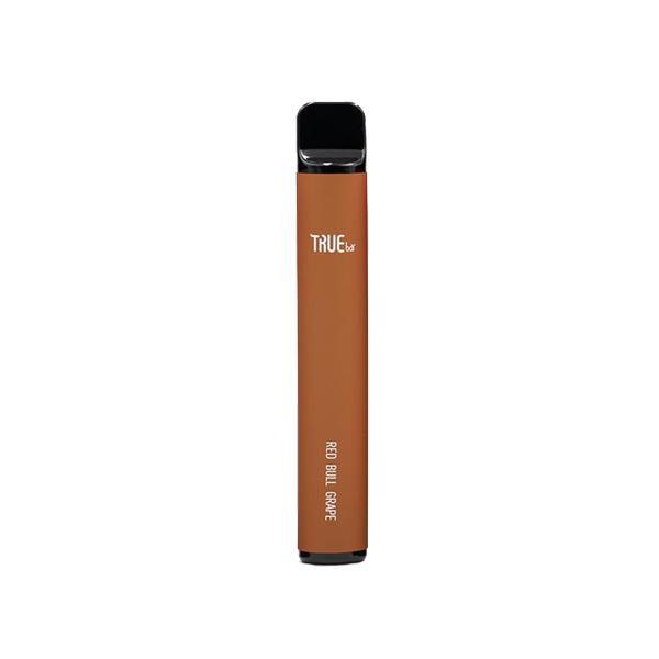 20mg True Bar Disposable Vape Pod 600 Puffs 3 for £10 - Disposable Vapes 10