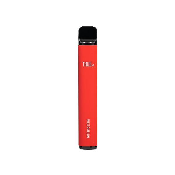 20mg True Bar Disposable Vape Pod 600 Puffs 3 for £10 - Disposable Vapes 5