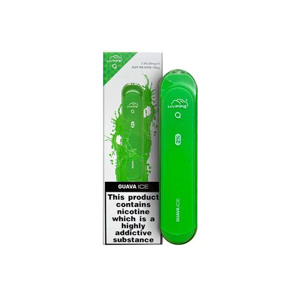 Hyppe Q Disposable Vape Pod 600 Puffs 3 for £14 - Disposable Vapes 11