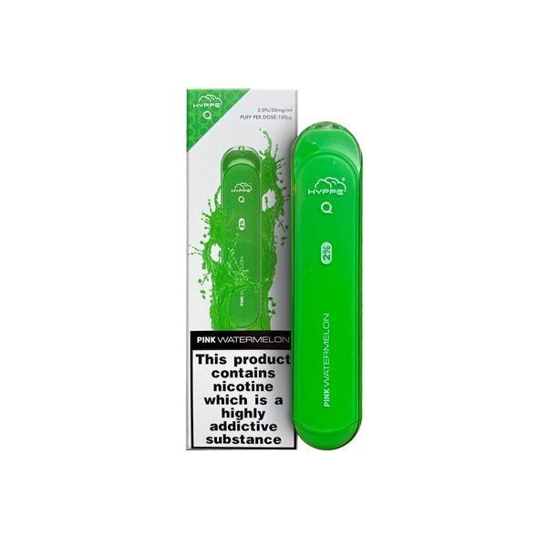 Hyppe Q Disposable Vape Pod 600 Puffs 3 for £14 - Disposable Vapes 9
