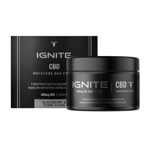 "<a href=""https://wvvapes.co.uk/ignite-cbd-500mg-cbd-moisture-day-cream-50ml"">Ignite CBD 500mg CBD Moisture Day Cream 50ml</a> CBD Products"