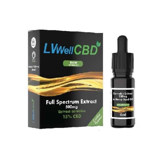 "<a href=""https://wvvapes.co.uk/lvwell-cbd-500mg-10ml-raw-cannabis-oil"">LVWell CBD 500mg 10ml Raw Cannabis Oil</a> Vaping Products"