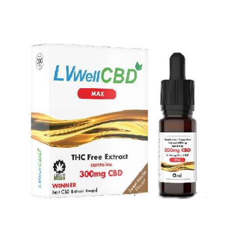 """<a href=""""https://wvvapes.co.uk/lvwell-cbd-300mg-10ml-max-hemp-seed-oil"""">LVWell CBD 300mg 10ml Max Hemp Seed Oil</a> Vaping Products"""