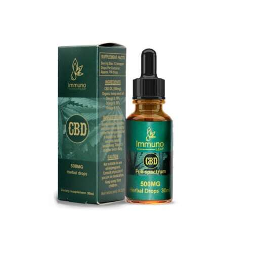 "<a href=""https://wvvapes.co.uk/immuno-leaf-500mg-cbd-premium-organic-hemp-seed-oil-30ml-buy-1-get-1-free"">Immuno Leaf 500mg CBD Premium Organic Hemp Seed Oil 30ML (Buy 1 Get 1 Free!)</a> CBD Oil"