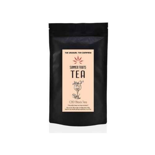 "<a href=""https://wvvapes.co.uk/the-unusual-tea-company-3-cbd-hemp-tea-summer-fruits-40g"">The Unusual Tea Company 3% CBD Hemp Tea – Summer Fruits 40g</a> Vaping Products"