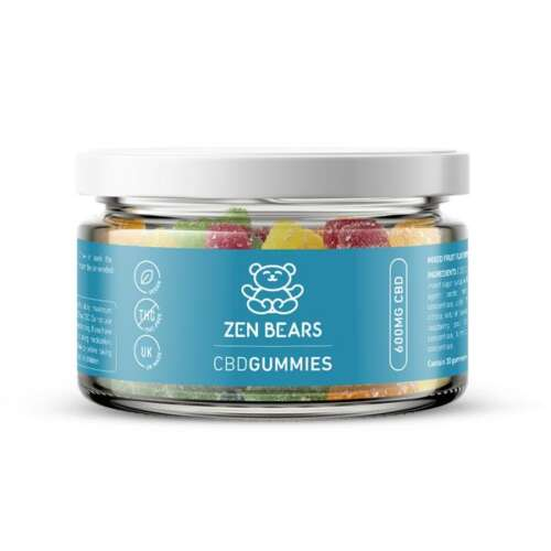 "<a href=""https://wvvapes.co.uk/zenbears-600mg-cbd-gummies-150g"">ZenBears 600mg CBD Gummies – 150g</a> CBD Food"