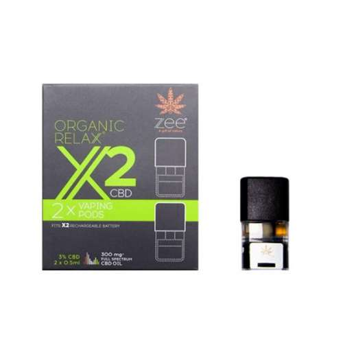 "<a href=""https://wvvapes.co.uk/zee-organic-relax-x2-cbd-replacement-pods-300mg-cbd"">Zee Organic Relax X2 CBD Replacement Pods 300mg CBD*</a> Vaping Products"