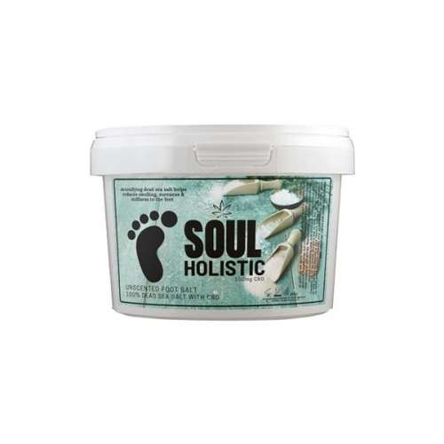 "<a href=""https://wvvapes.co.uk/soul-holistic-100mg-cbd-dead-sea-salt-unscented-foot-salt-500g"">Soul Holistic 100mg CBD Dead Sea Salt Unscented Foot Salt – 500g</a> Vaping Products"
