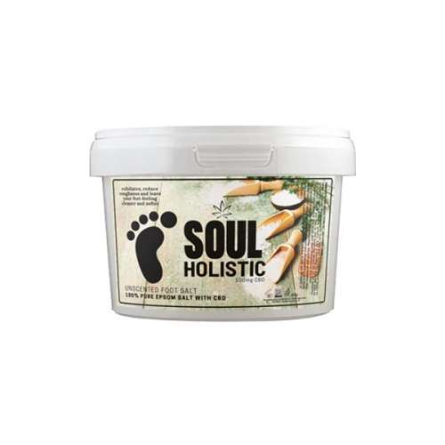 "<a href=""https://wvvapes.co.uk/soul-holistic-100mg-cbd-pure-epsom-salt-unscented-foot-salt-500g"">Soul Holistic 100mg CBD Pure Epsom Salt Unscented Foot Salt – 500g</a> Vaping Products"