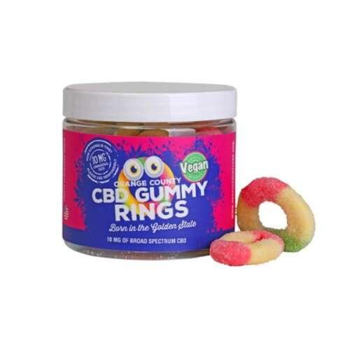 "<a href=""https://wvvapes.co.uk/orange-county-cbd-25mg-gummy-rings-small-pack"">Orange County CBD 25mg Gummy Rings – Small Pack</a> CBD Food"