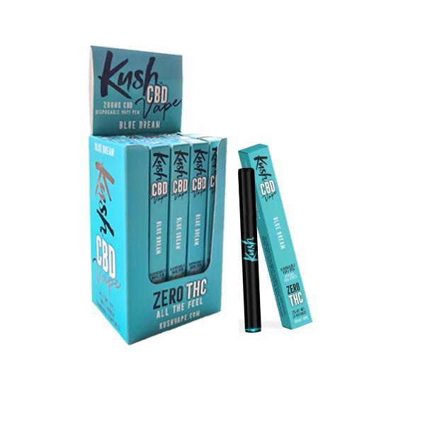 Kush Vape 200mg CBD Disposable Vape Pen (70VG/30PG) Disposable Vapes 9