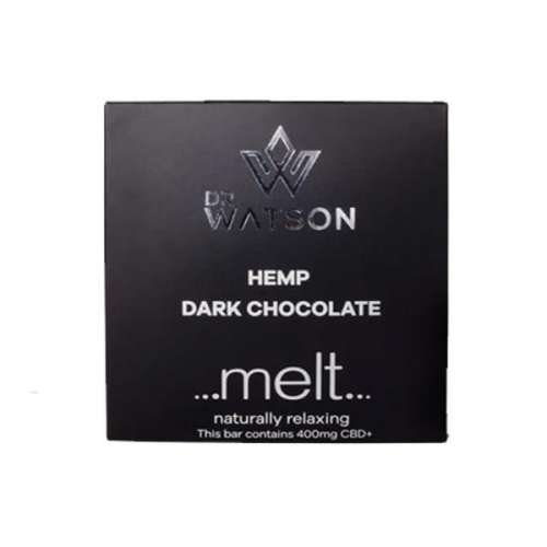 """<a href=""""https://wvvapes.co.uk/dr-watson-melt-400mg-cbd-dark-chocolate"""">Dr Watson Melt 400mg CBD Dark Chocolate</a> Vaping Products"""