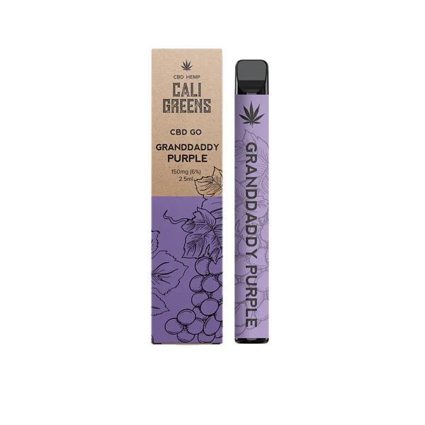 Cali Greens CBD GO 150mg Disposable Vape Pen Disposable Vapes 4
