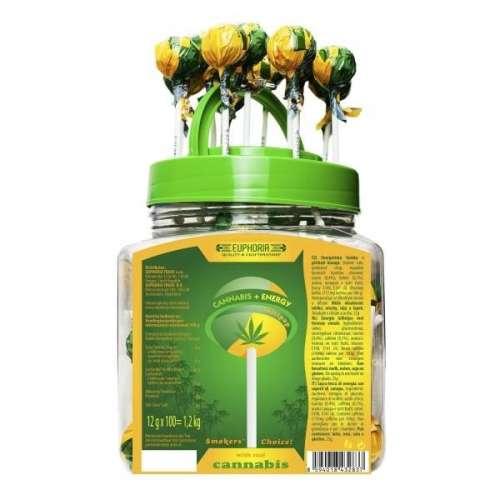 "<a href=""https://wvvapes.co.uk/euphoria-cannabis-energy-lollipops-12g-x-100pcs-approx"">Euphoria  Cannabis + Energy Lollipops 12g x 100pcs (Approx)</a> CBD Food"