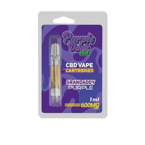 "<a href=""https://wvvapes.co.uk/purple-dabz-cbd-vape-cartridges-300-600-mg-granddaddy-purple"">Purple Dabz CBD Vape Cartridges 300 & 600 MG – Granddaddy Purple</a> Vaping Products"