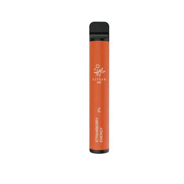 NEW 20mg ELF Bar 600 Puffs Disposable Vape Pod 3 for £10 - Disposable Vapes 2