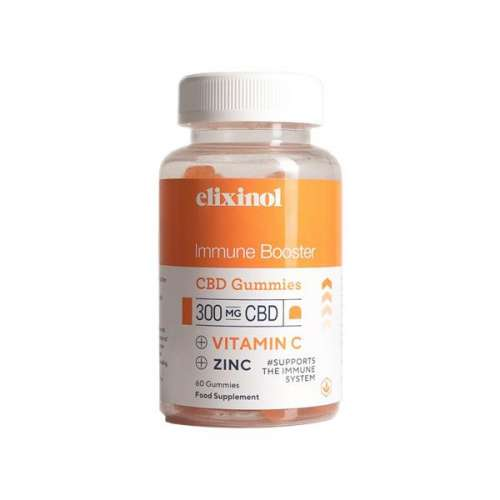 "<a href=""https://wvvapes.co.uk/elixinol-300mg-cbd-immune-booster-gummies"">Elixinol 300mg CBD Immune Booster Gummies</a> CBD Food"