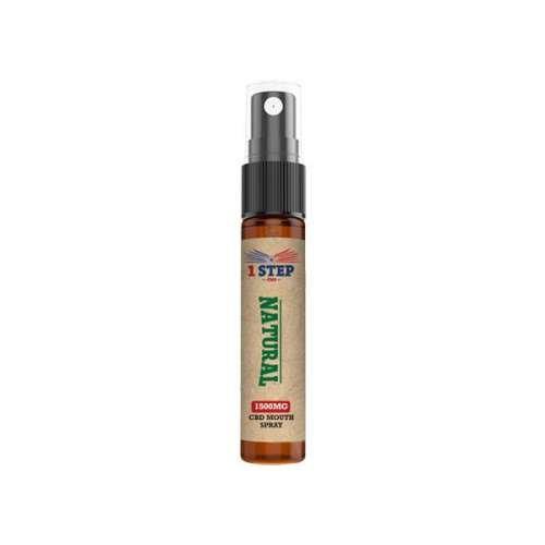 "<a href=""https://wvvapes.co.uk/1-step-cbd-1500mg-cbd-natural-mouth-spray-10ml"">1 Step CBD 1500mg CBD Natural Mouth Spray 10ml</a> CBD Oil"
