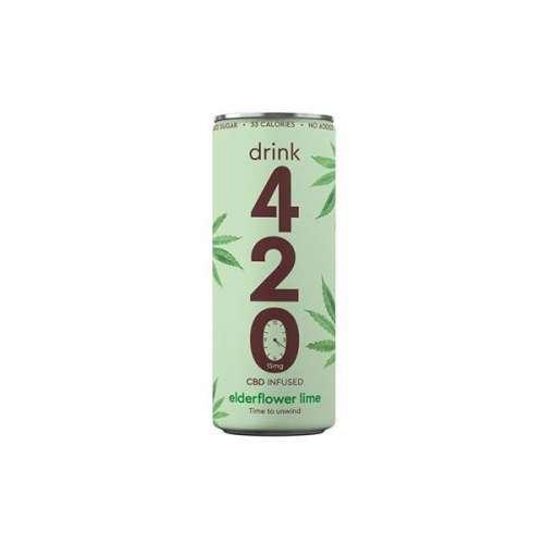 """<a href=""""https://wvvapes.co.uk/drink-420-cbd-15mg-infused-sparkling-drink-elderflower-lime"""">Drink 420 CBD 15mg Infused Sparkling Drink – Elderflower Lime</a> CBD Drinks"""