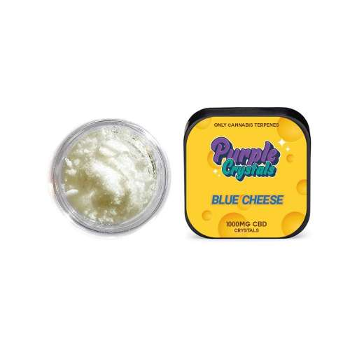 """<a href=""""https://wvvapes.co.uk/purple-crystals-by-purple-dank-1000mg-cbd-crystals-blue-cheese"""">Purple Crystals by Purple Dank 1000mg CBD Crystals – Blue Cheese</a> Vaping Products"""