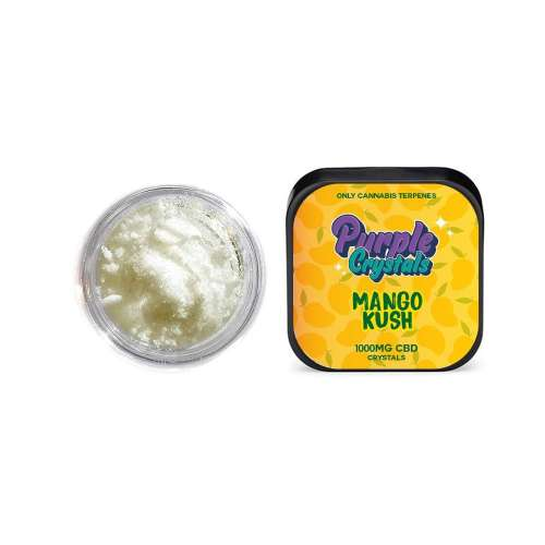 """<a href=""""https://wvvapes.co.uk/purple-crystals-by-purple-dank-1000mg-cbd-crystals-mango-kush"""">Purple Crystals by Purple Dank 1000mg CBD Crystals – Mango Kush</a> Vaping Products"""