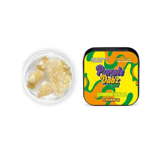 "<a href=""https://wvvapes.co.uk/purple-dabz-by-purple-dank-1000mg-cbd-crumble-lemon-haze"">Purple Dabz by Purple Dank 1000mg CBD Crumble – Lemon Haze</a> Vaping Products"