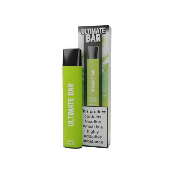 20mg Ultimate Bar Disposable Nic Salt Pod 575 Puffs 500+ Puffs Disposables 5