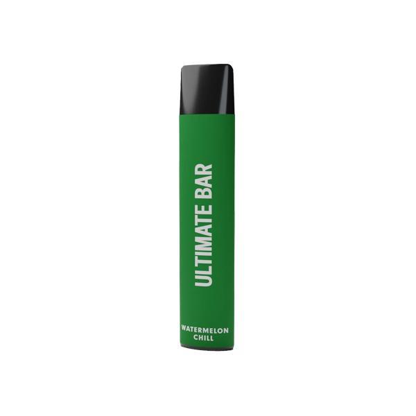 20mg Ultimate Bar Disposable Nic Salt Pod 575 Puffs 500+ Puffs Disposables 15