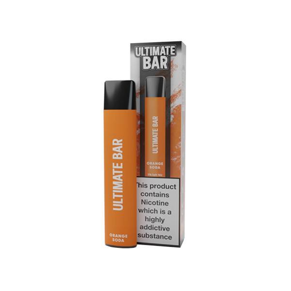 20mg Ultimate Bar Disposable Nic Salt Pod 575 Puffs 500+ Puffs Disposables 13