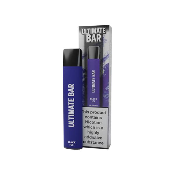 20mg Ultimate Bar Disposable Nic Salt Pod 575 Puffs 500+ Puffs Disposables 11