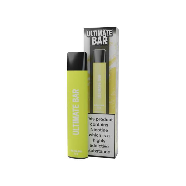 20mg Ultimate Bar Disposable Nic Salt Pod 575 Puffs 500+ Puffs Disposables 8