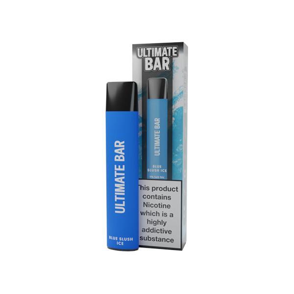20mg Ultimate Bar Disposable Nic Salt Pod 575 Puffs 500+ Puffs Disposables 14