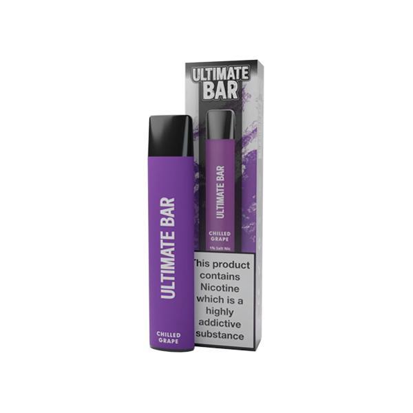 20mg Ultimate Bar Disposable Nic Salt Pod 575 Puffs 500+ Puffs Disposables 6