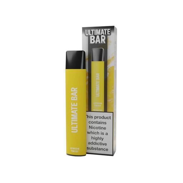 20mg Ultimate Bar Disposable Nic Salt Pod 575 Puffs 500+ Puffs Disposables 3