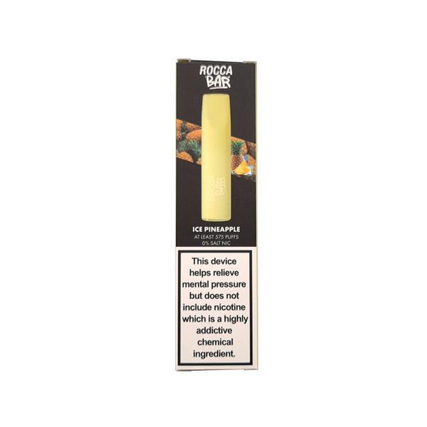 0mg Rocca Bar Disposable Vape Pod 575 Puffs Vaping Products 6